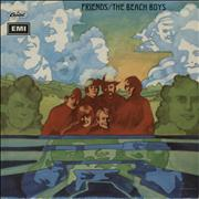 Beach Boys Friends - 1st - VG UK vinyl LP