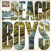 "Beach Boys Getcha Back UK 7"" vinyl"