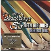 Beach Boys Greatest Hits: 50 Fifty Big Ones - Sealed UK cd album box set