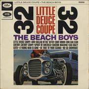Click here for more info about 'The Beach Boys - Little Deuce Coupe - Rainbow Rim'