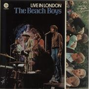 Click here for more info about 'The Beach Boys - Live In London - Gatefold - Green Label'