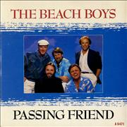 "Beach Boys Passing Friend UK 7"" vinyl"