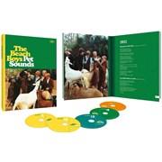 Beach Boys Pet Sounds - 50th Anniversary Edition + Blu-Ray UK 4-CD set