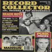 Click here for more info about 'Beach Boys - Record Collector - September 1998'