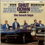 Beach Boys Shut Down Volume 2 UK vinyl LP