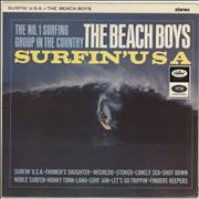Beach Boys Surfin' U.S.A. UK vinyl LP
