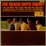 Beach Boys The Beach Boys Today! - 1st UK vinyl LP