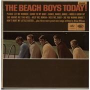 The Beach Boys Today! - Original Mono - EX UK vinyl LP