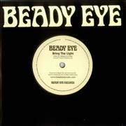 "Beady Eye Bring The Light UK 7"" vinyl Promo"