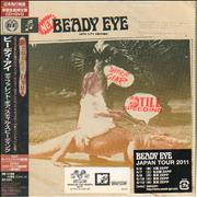 Beady Eye Different Gear, Still Speeding + flyer Japan 2-disc CD/DVD set