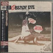 Beady Eye Different Gear, Still Speeding Japan 2-disc CD/DVD set Promo