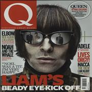 Beady Eye Q Magazine - March 2011 UK magazine