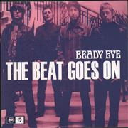 "Beady Eye The Beat Goes On - Numbered Sleeve UK 7"" vinyl"