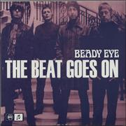"Beady Eye The Beat Goes On UK 7"" vinyl"