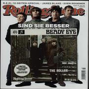 Click here for more info about 'Beady Eye - The Roller + Rolling Stone Magazine'