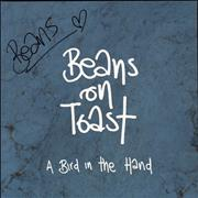 Click here for more info about 'Beans On Toast - A Bird In The Hand - Autographed'