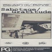 Click here for more info about 'Beastie Boys - Sabotage / Gratitude'
