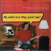 Click here for more info about 'Beastie Boys - Sure Shot - Burgundy Vinyl'
