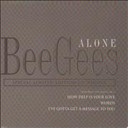 Click here for more info about 'Bee Gees - Alone - Digipak'