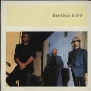 "Bee Gees E.S.P. - Xmas Card UK 7"" vinyl"