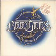 Click here for more info about 'The Bee Gees - Greatest - Stickered sleeve - EX'