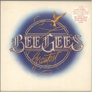 Bee Gees Greatest - Stickered Sleeve UK 2-LP vinyl set