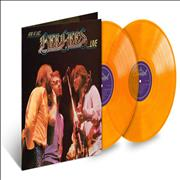 Click here for more info about ' - Here At Last... Bee Gees Live - Orange Vinyl'