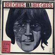 Bee Gees Idea - 1st - Stickered Shrink USA vinyl LP