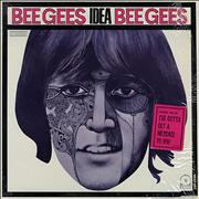 Click here for more info about 'The Bee Gees - Idea - Yellow Label'
