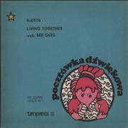 Click here for more info about 'Bee Gees - Living Together - Colour Variant Sleeve'
