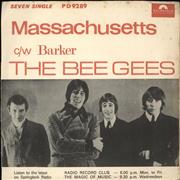 Click here for more info about 'Bee Gees - Massachusetts + p/s'