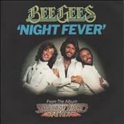Click here for more info about 'Bee Gees - Night Fever + Sleeve'