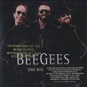 Click here for more info about 'Bee Gees - One Night Only - Gold promo stamped'