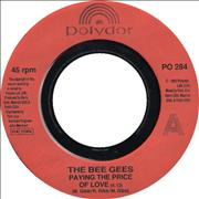 Click here for more info about 'Bee Gees - Paying The Price Of Love - Jukebox'