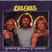 "Bee Gees Someone Belonging To Someone UK 7"" vinyl"