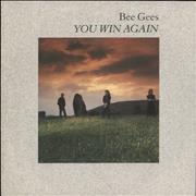 Click here for more info about 'Bee Gees - You Win Again + Sleeve'