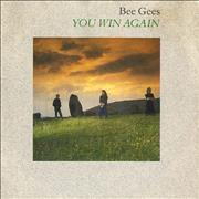Click here for more info about 'Bee Gees - You Win Again - Solid - P/S'