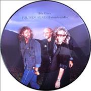 "Bee Gees You Win Again UK 12"" picture disc"