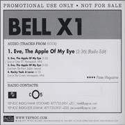 Click here for more info about 'Bell X1 - Eve, The Apple Of My Eye'
