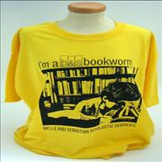Click here for more info about 'Belle & Sebastian - Bookworm T-Shirt - XL'