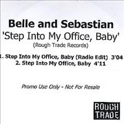 Click here for more info about 'Belle & Sebastian - Step Into My Office Baby'