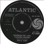 Click here for more info about 'Ben E. King - Goodnight My Love, Pleasant Dreams'