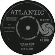 Click here for more info about 'Ben E. King - It's All Over'