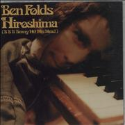 Click here for more info about 'Ben Folds - Hiroshima (B B B Benny Hit Hits Head)'