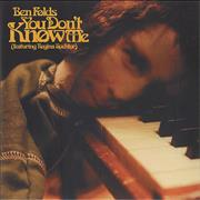 Click here for more info about 'Ben Folds - You Don't Know Me'