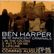 Click here for more info about 'Ben Harper - Lifeline Sampler'
