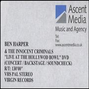 Click here for more info about 'Ben Harper - Live At The Hollywood Bowl'