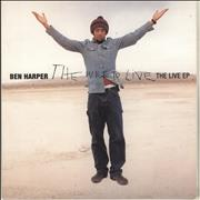 Click here for more info about 'Ben Harper - The Will To Live: The Live EP - 180gm'