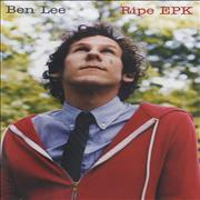 Click here for more info about 'Ben Lee - Ripe EPK'