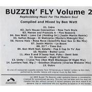 Click here for more info about 'Ben Watt - Buzzin' Fly Volume 2'